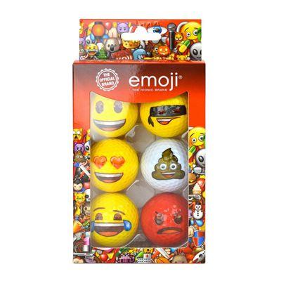 Emoji Golf Balls - 6 Pack