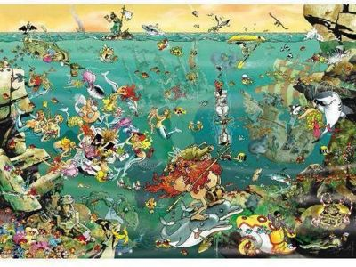 Under Water - 1000pc Puzzle