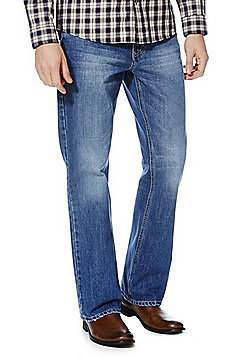 F&F Bootcut Jeans - Mid wash