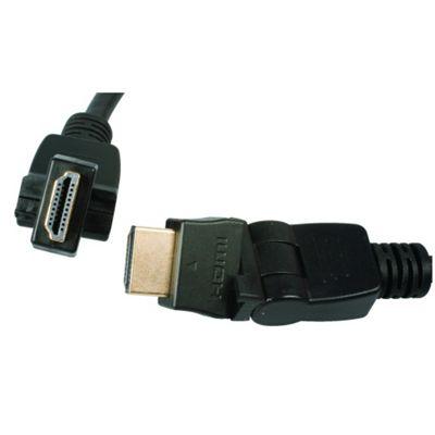 HDMI Rotate and Swivel Lead 1m