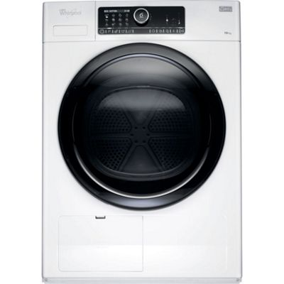 Whirlpool HSCX10431 10kg Condenser Tumble Dryer, White