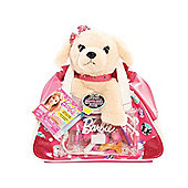 Barbie Vet Bag Set - Light Brown Puppy