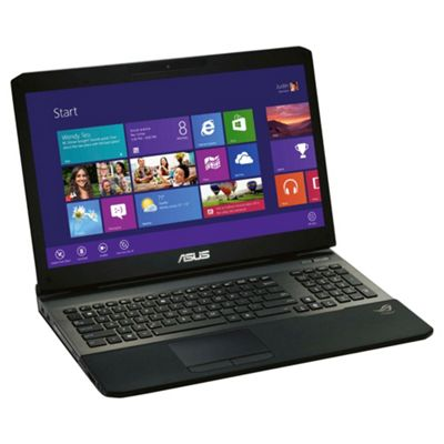 Asus G75VW-9Z396H 17.3-inch laptop, Intel Core i7, 8GB RAM, 1.5TB, Windows 8, Black