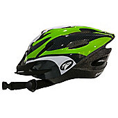 Coyote Sierra Dial Fit Adult Cycling Helmet Green Large