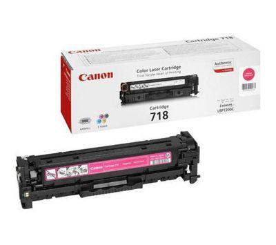 Canon 718 Toner Cartridge - Magenta