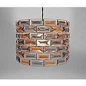 Country Club Metal Light Shade, Copper Gem
