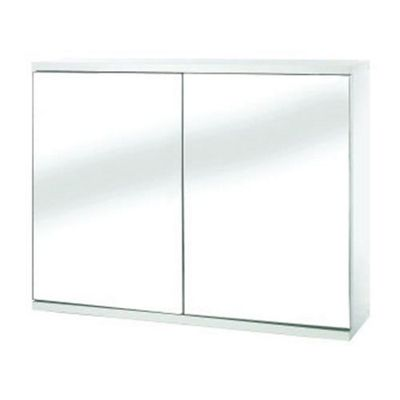 Croydex Swivel Double Door White Bathroom Cabinet
