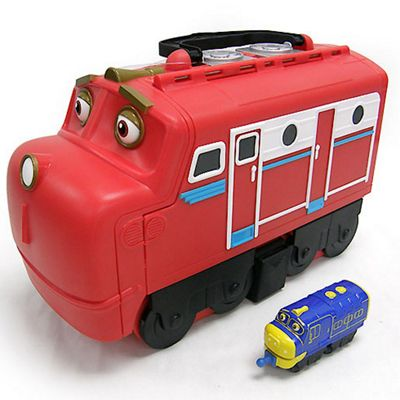 Buy Chuggington Diecast Trains with Wilson Carry Case from our Toy ...
