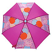 Peppa Pig Up Up & Away Kids' Umbrella