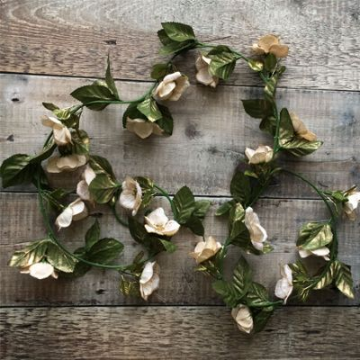 Christmas Rose Garland