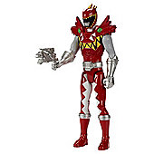 Power Rangers Dino Supercharge Carnival Red  30cm Action Figure