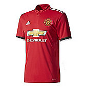 adidas Manchester United F.C. Home Football Jersey 17/18 - Red