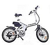 Cyclamatic Cx4 Pro Dual Suspension Foldaway Electric Bike / Ebike White
