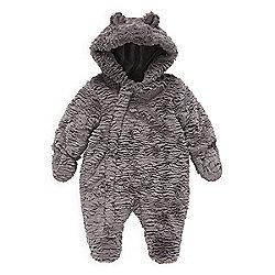 d8956e940282 Mothercare Baby Unisex Fluffy Snowsuit Size 3-6 months