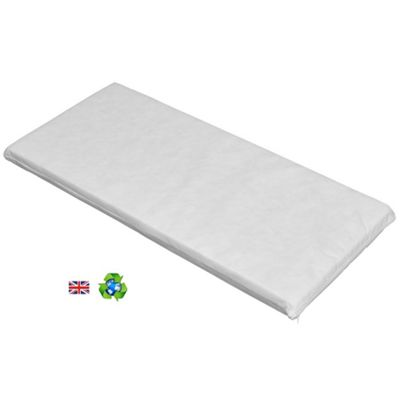 PreciousLittleOne Non Allergenic Eco Fibre Travel Cot Mattress (119x59)