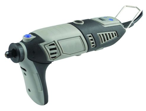 170W Variable Speed Rotary Tool with LCD and 219 Piece Accessory Set