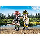 Playmobil Ranger and Hunter