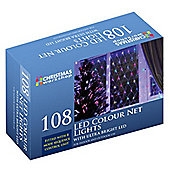Ultra Bright LED Christmas Net Lights - Multi