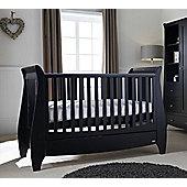 Tutti Bambini Lucas 5 Piece Nursery Room Set, Espresso
