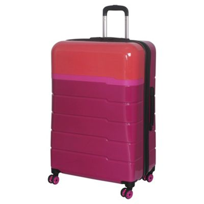 Buy IT Luggage TwoTone 8 wheel Hard Shell Persian Red and ...