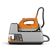 Hotpoint SGC10AA0UK Steam Generator Iron, 2400W, 1.2L Water Tank, in Orange