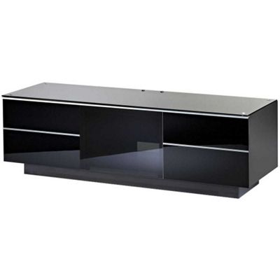 UK-CF Ultimate Black TV Stand For Up To 65 inch TVs