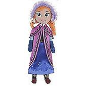 "Disney Frozen 10"" Plush Rag Doll Soft Toy - Anna"