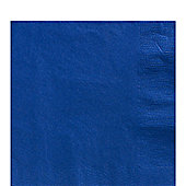 Royal Blue Luncheon Napkins - 2ply Paper - 20 Pack