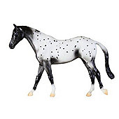 Breyer - Classic Collection - Black Semi-Leopard Appaloosa - 1:12 - Hornby