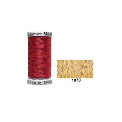 Gutermann Sulky Cotton 300m Gold