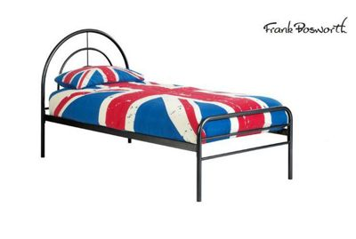 Frank Bosworth Sally Single Bed Frame - Black