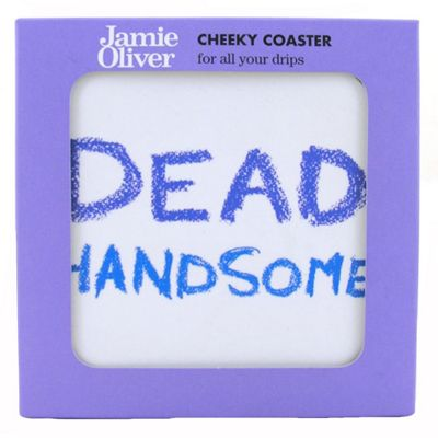 Churchill Jamie Oliver Dead Handsome Cheeky Coaster
