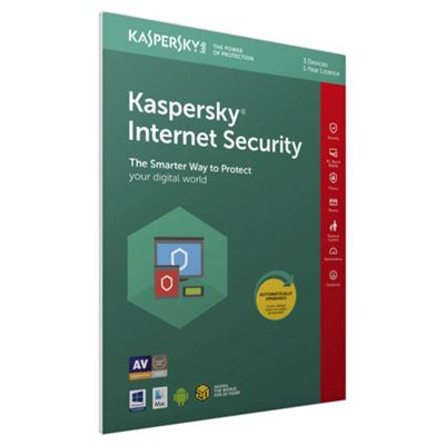 Kaspersky Internet Security 2018 3 Devices 1 Year (PC/MAC/Android)