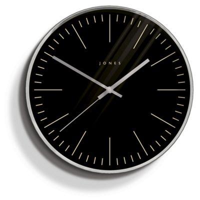 Jones the studio silver wall clock buy from tesco