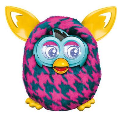 Furby Boom - Purple Houndstooth