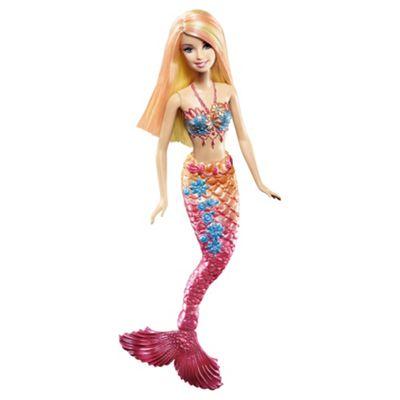 Barbie Mermaid Orange / Red Doll