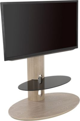 AVF Chepstow Washed Oak TV Stand with Bracket for up to 50 inch
