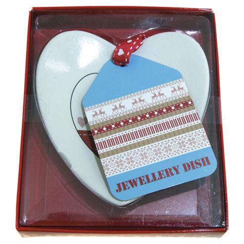 Scandi Heart shaped plaque