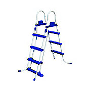 "Bestway 42"" Coated Steel Frame Safety Pool Ladder"