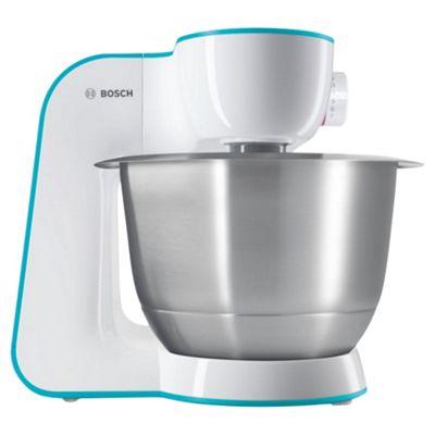 Bosch Kitchen Machine, MUM54D00GB - White and Blue