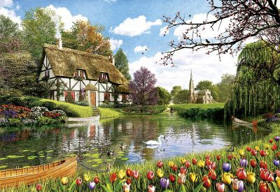 Lakeside Cottage - 6000pc Puzzle