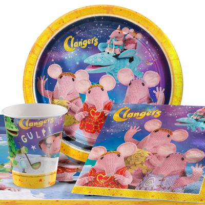 Clangers Party Pack - Value Party for 8