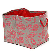 Red & Grey Rectangle Storage Bag