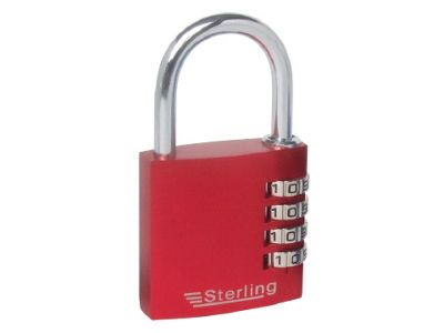 Sterling Cpl141 Alu.Combination Padlock 40Mm