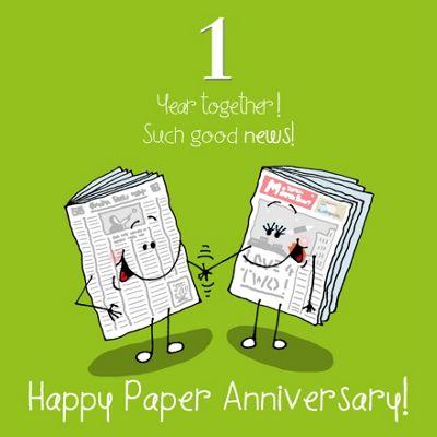 Buy 1st wedding anniversary greetings card paper anniversary from 1st wedding anniversary greetings card paper anniversary m4hsunfo