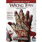 Wrong Turn Series 1-5 DVD