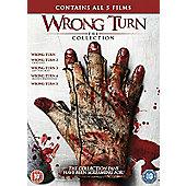 Wrong Turn Series 1-5 DVD