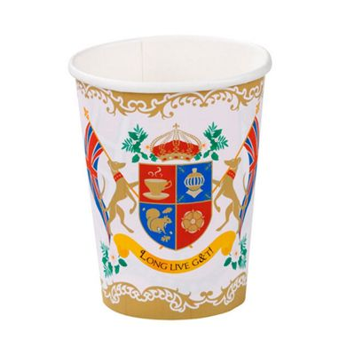 British Street Party Paper Cups