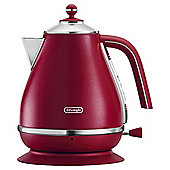 Delonghi Elements Kettle Red