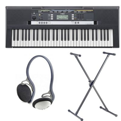 Yamaha PSRE243 Keyboard - Inc. Stand and Headphones
